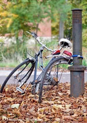Trasig cykel