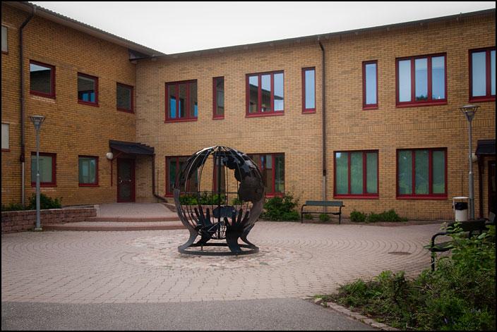 Jordgloben vid Norrevångsskolan