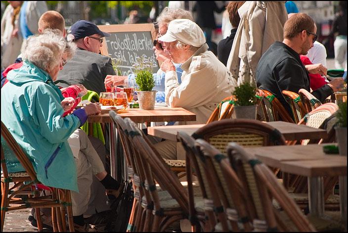 Restaurang i Nyhavn