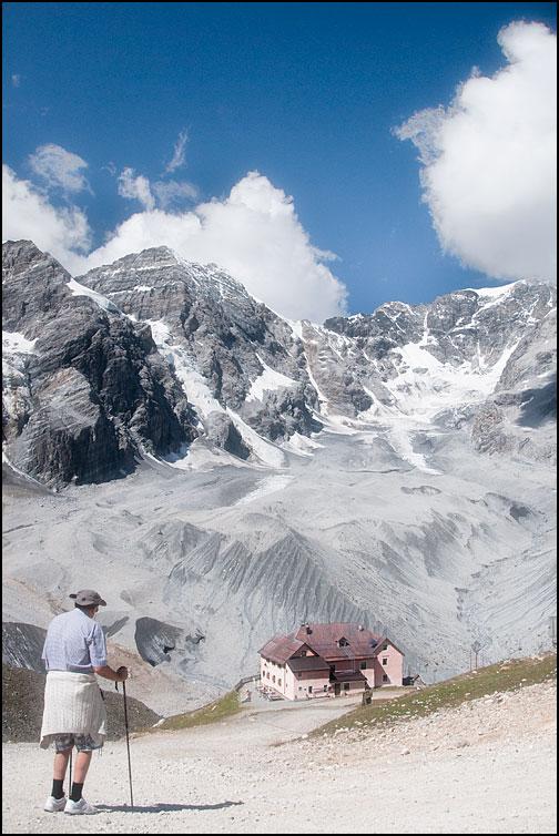 På vandring i Alperna