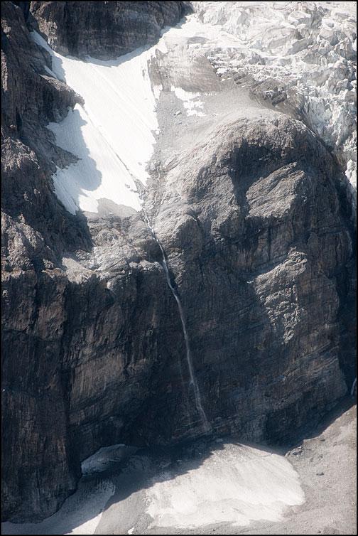 Glaciären smälter