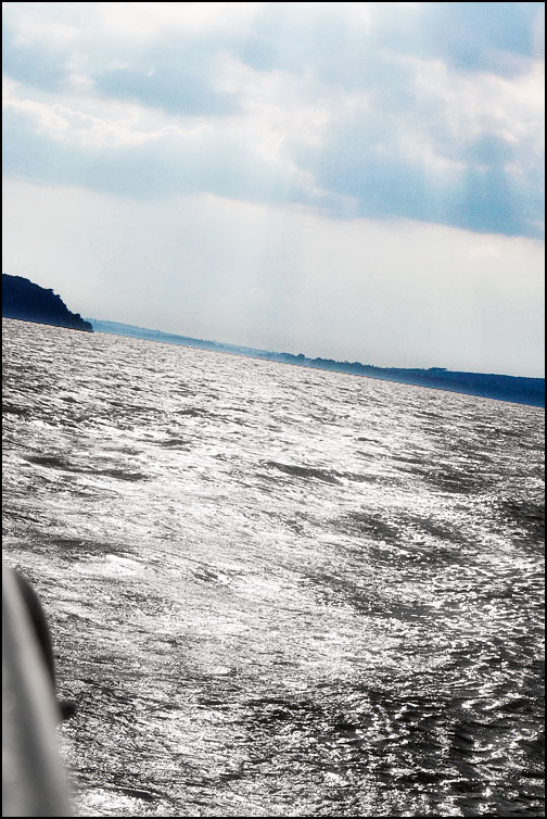 Vattenytan på Lago Trasimeno