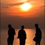 Three Men and a Sun