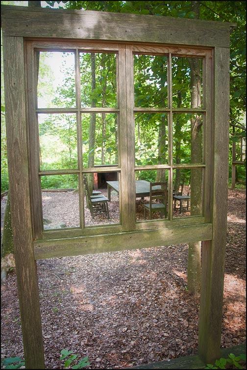 Fönster i naturen