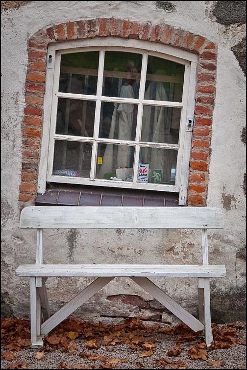 Snett fönster