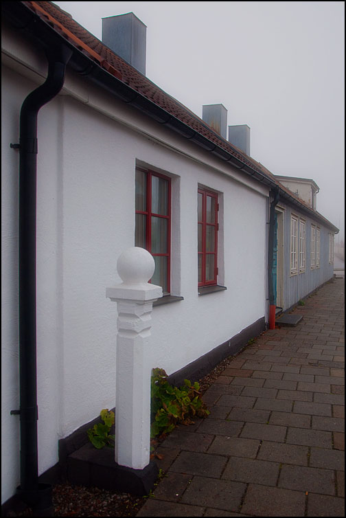 Gatuhus på Västergatan