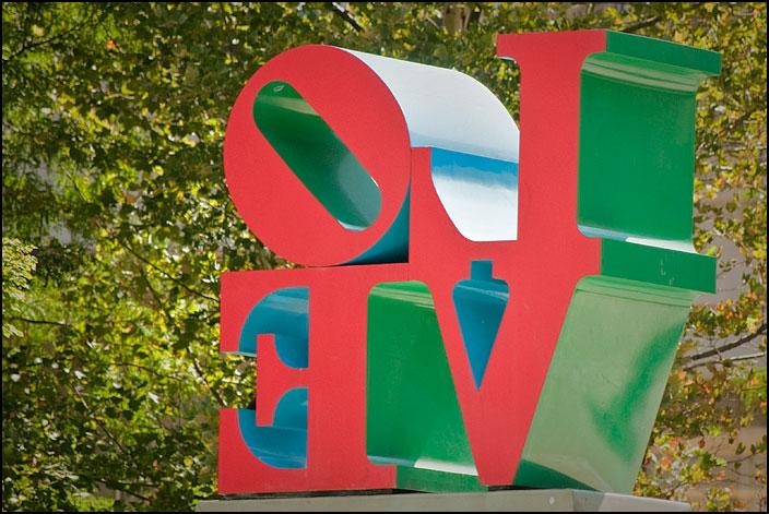 Love-statyn i Philadelphia