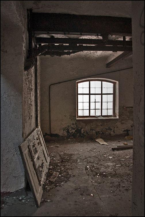 Övergivet fönster