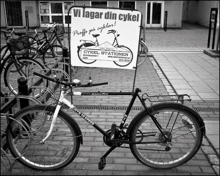 Cykelskylt