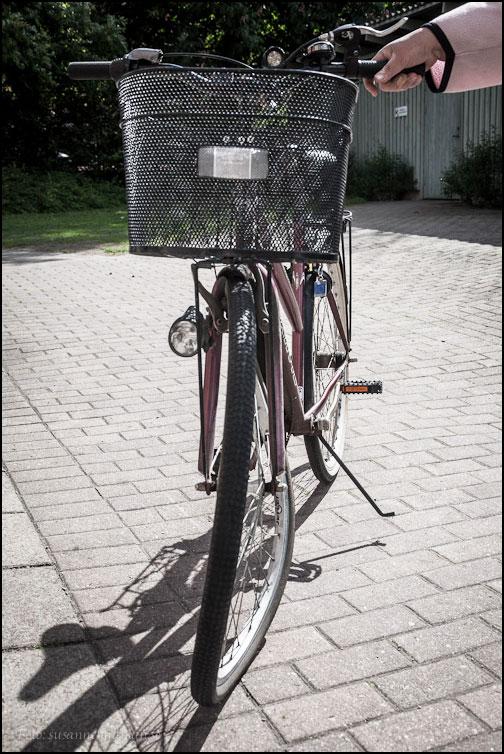 Skadad cykel