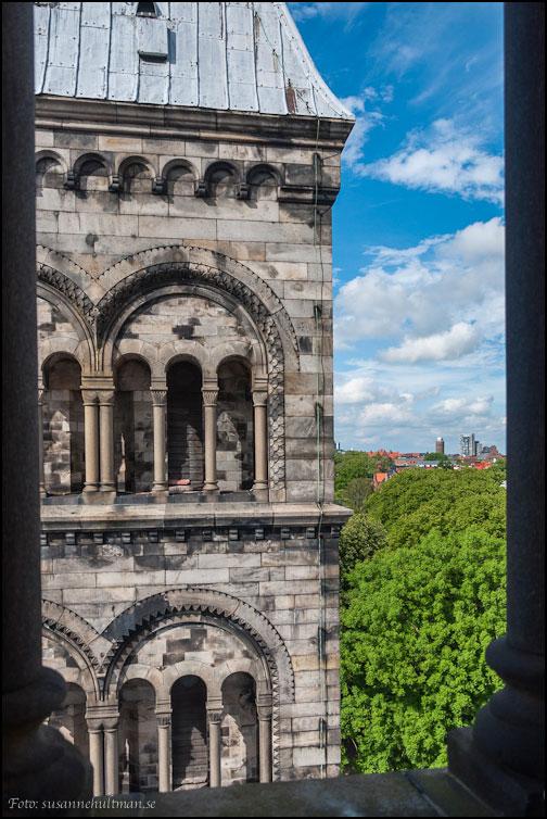 Romanska fönster på Lunds domkyrka