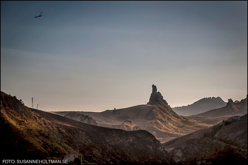 Landskapsbild på Sicilien