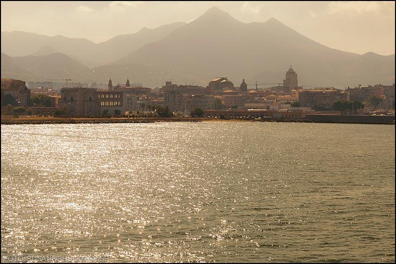 Palermo från havet