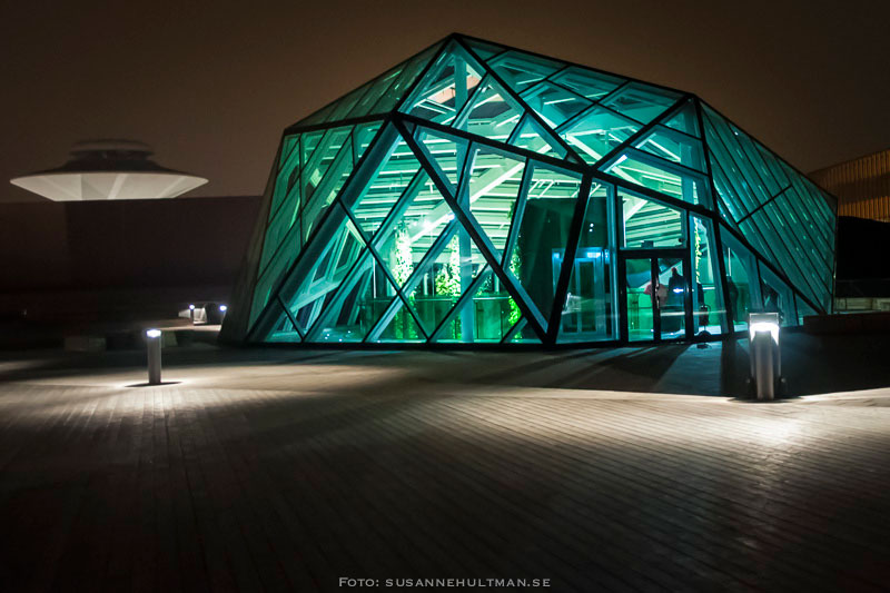 Glashus på Emporias tak