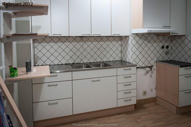 Mitt kök i februari