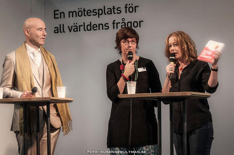 Mark Levengood, Christina Wahldén och Åsa Linderborg