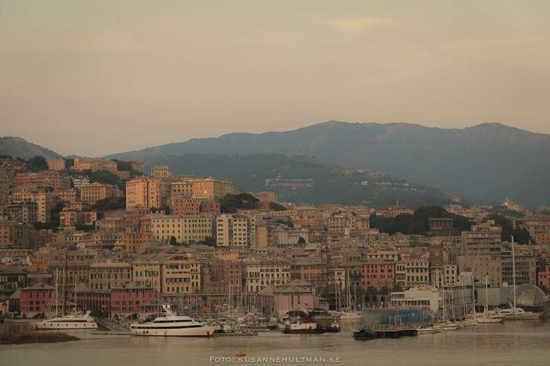 Genova från havet