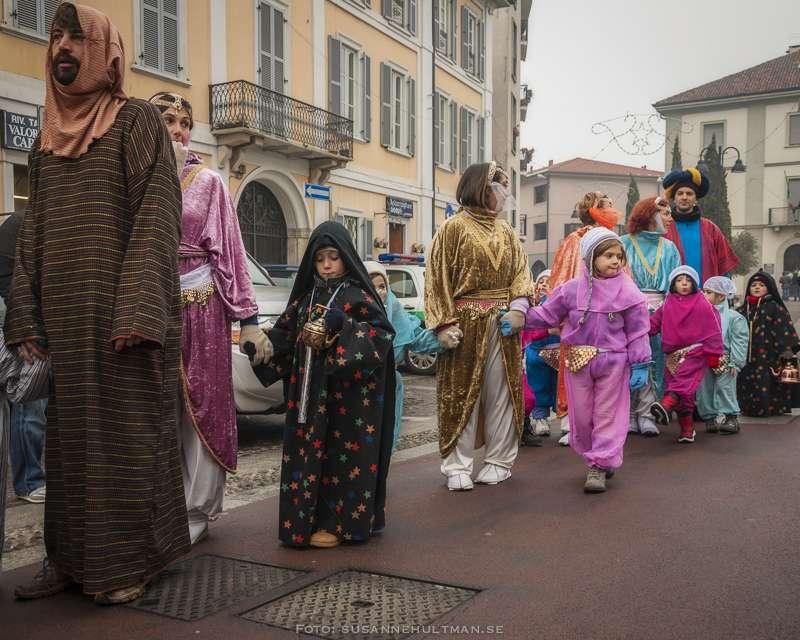 Orientalisk procession i Albiate