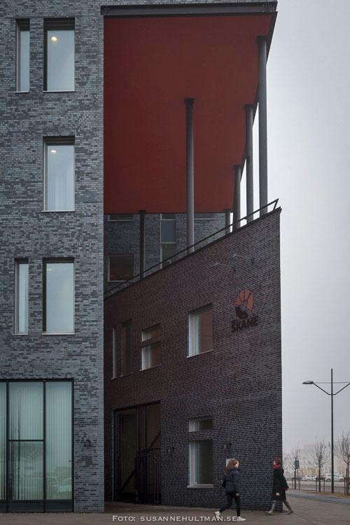 Entrén till Region Skånes byggnad.