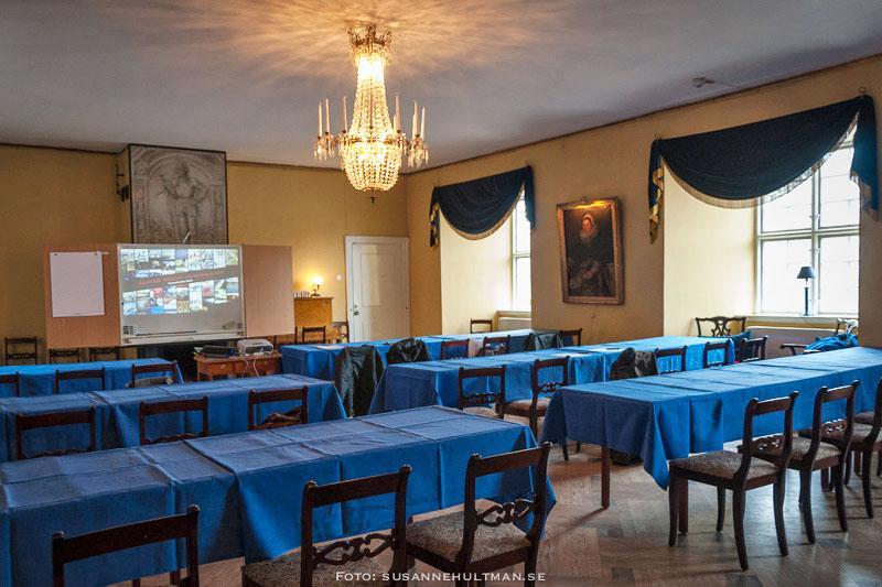 Konferenssalen på Svaneholms slott