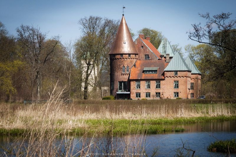 Örtofta slott vid Bråån