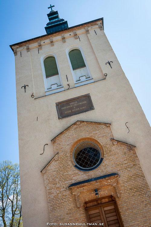 Entrésidan till Örtofta kyrka