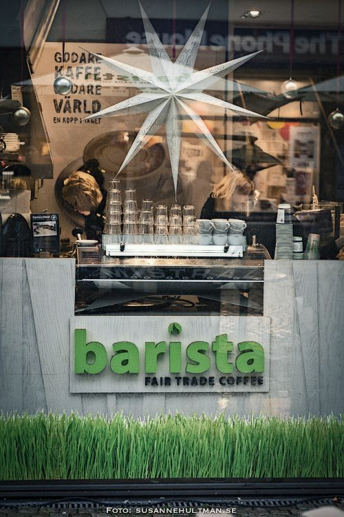 Barista, Fair Trade Coffee