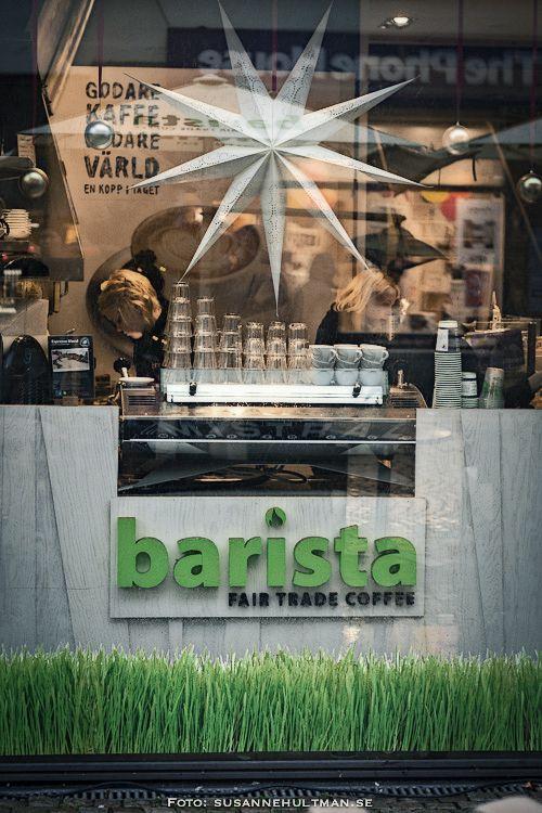 Barista, Fair Trade Coffee