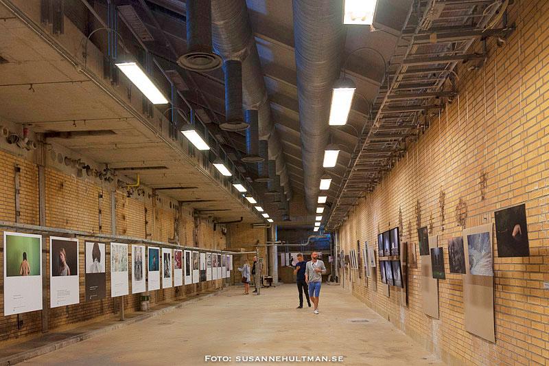 Ombyggd utställningslokal