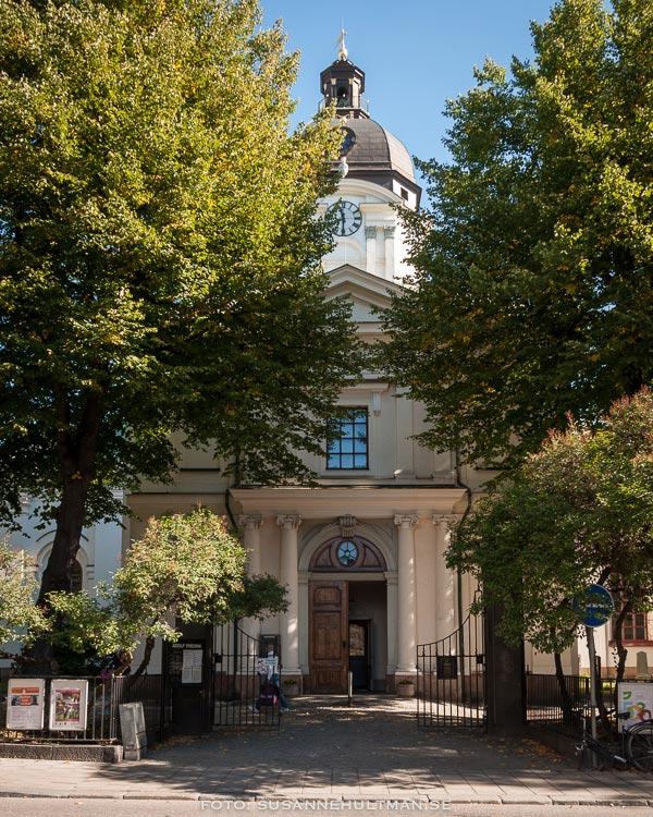 Kyrkan från Holländargatan