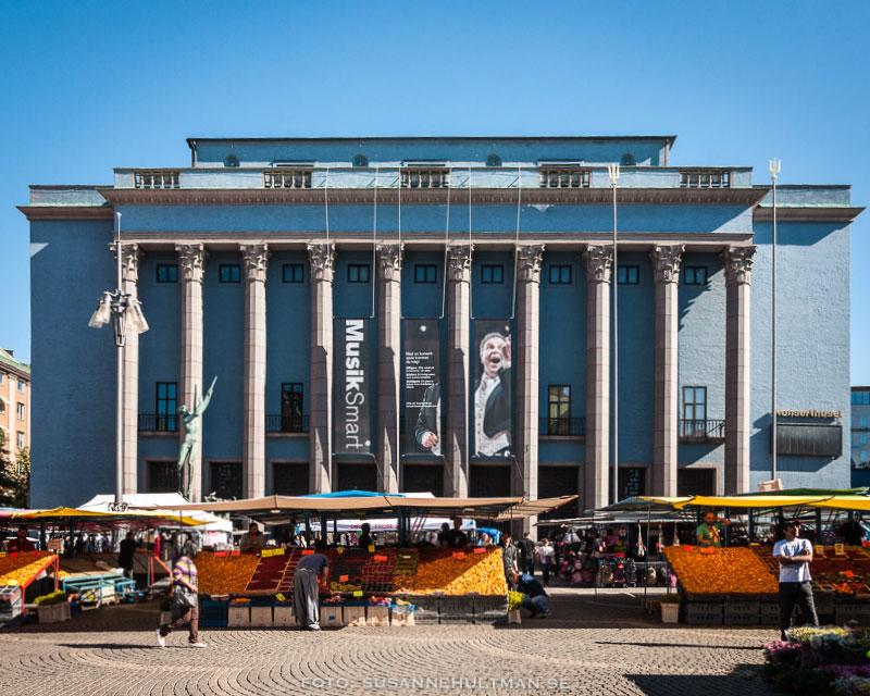 Stockholms konserthus och Hötorget