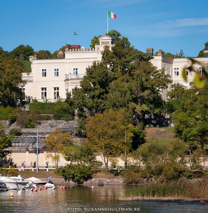 Italienska ambassaden från Waldemarsudde