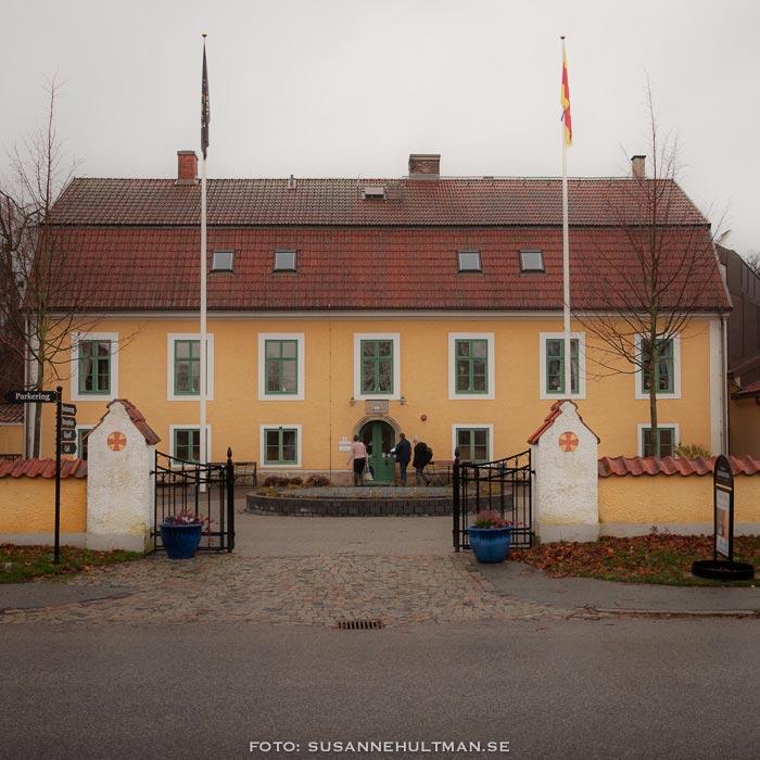Huvudentrén, Åkersbergs Stiftsgård