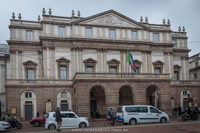 Huvudentrén till La Scala