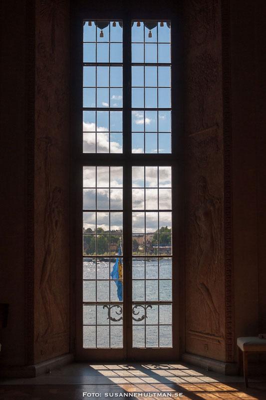 Ett av många fönster inifrån