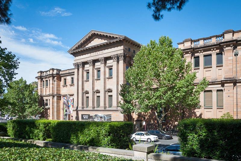 Australien Museum från Hyde Park