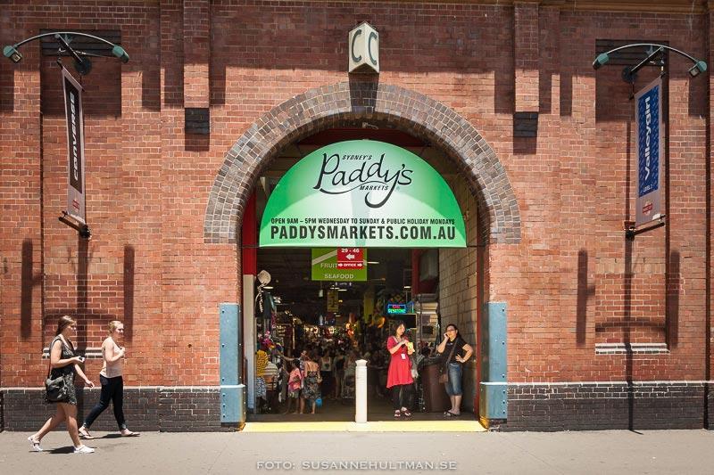 Paddy's Market utifrån