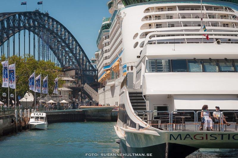Båtar vid Circular Quay