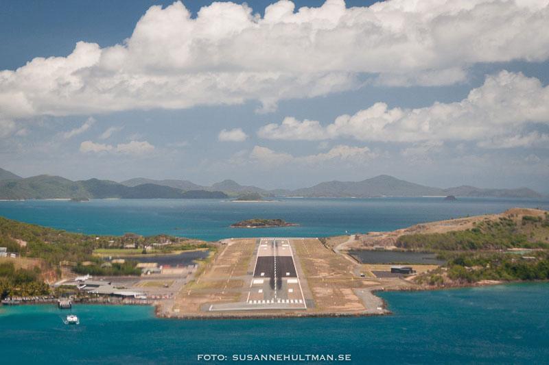 Flygplatsen på Hamilton Island