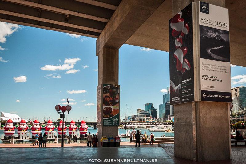 Annons om fotoutställning med Ansel Adams