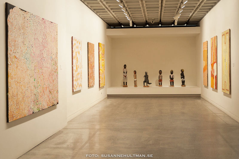 Nyare aboriginisk konst.