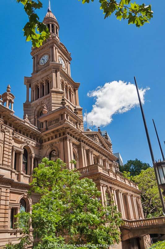 Town Hall snett framifrån