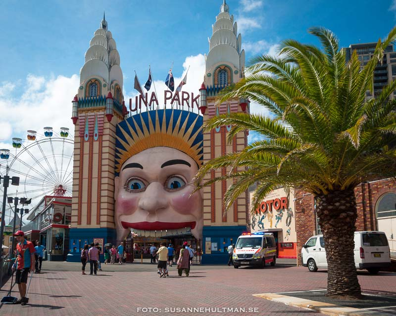 Ingången till Luna Park