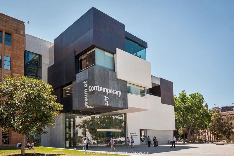 Den nyare delen av muséet.