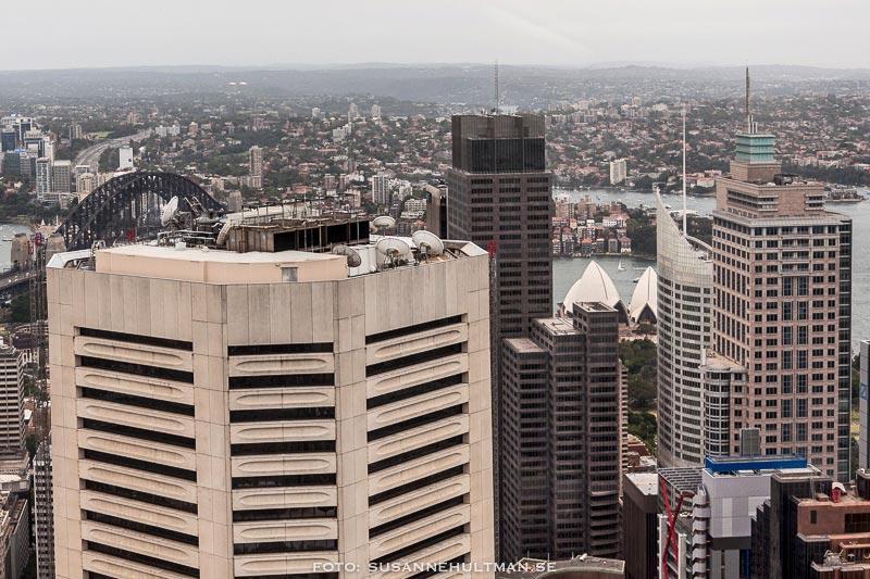 Harbour Bridge och Sydney Opera House