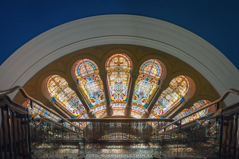 Fönster från en högre våning