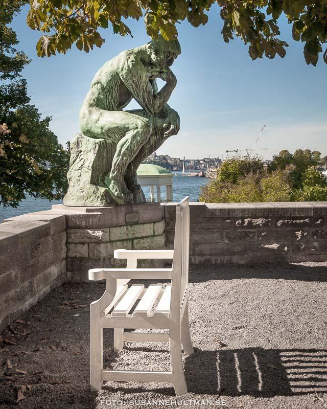 """Auguste Rodins skulptur """"Tänkaren"""""""