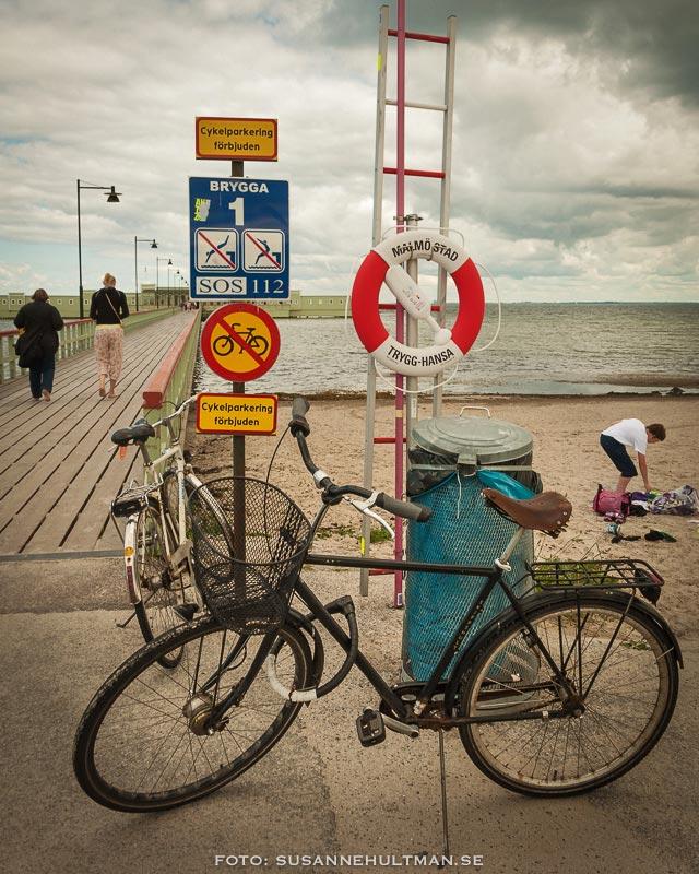Cykelparkering förbjuden