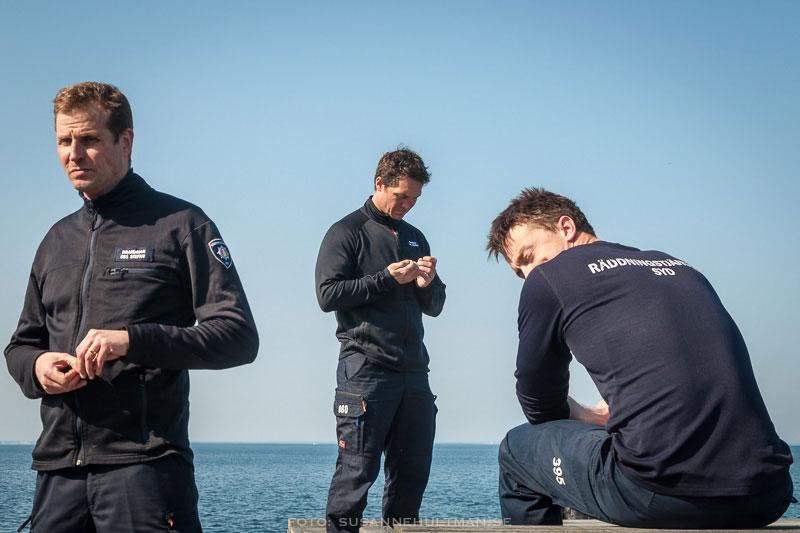 Tre dykare från Räddningstjänst Syd