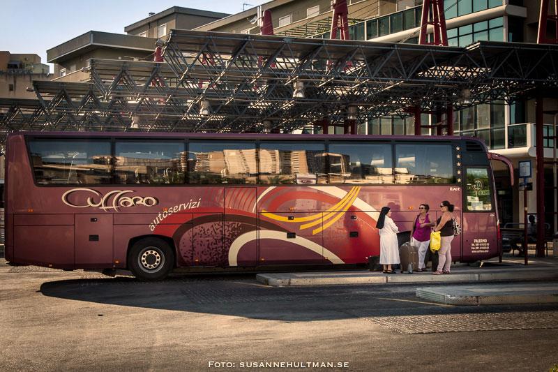 En italiensk buss